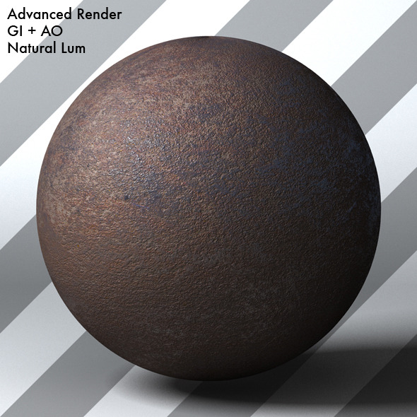 Rusty Metal Shader_003 - 3DOcean Item for Sale