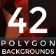 42 Abstract Polygon Backgrounds - GraphicRiver Item for Sale