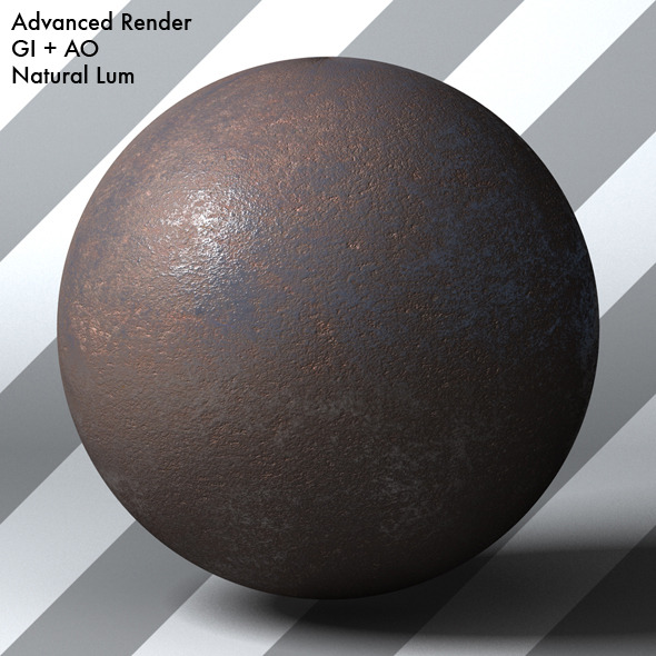 Rusty Metal Shader_004 - 3DOcean Item for Sale