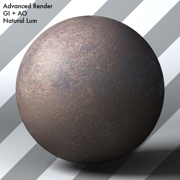 Rusty Metal Shader_005 - 3DOcean Item for Sale