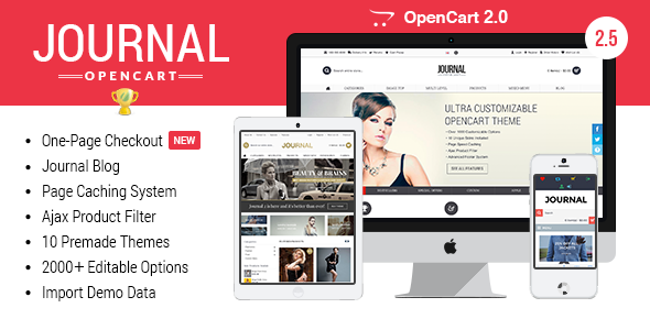Journal – Advanced Opencart Theme