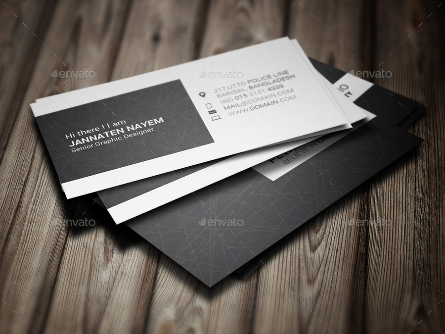 Creative Business Card by Jannatennayem | GraphicRiver