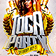 Toga Party Flyer - GraphicRiver Item for Sale