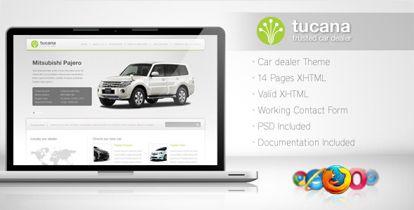 Tucana – Cars Dealer Template