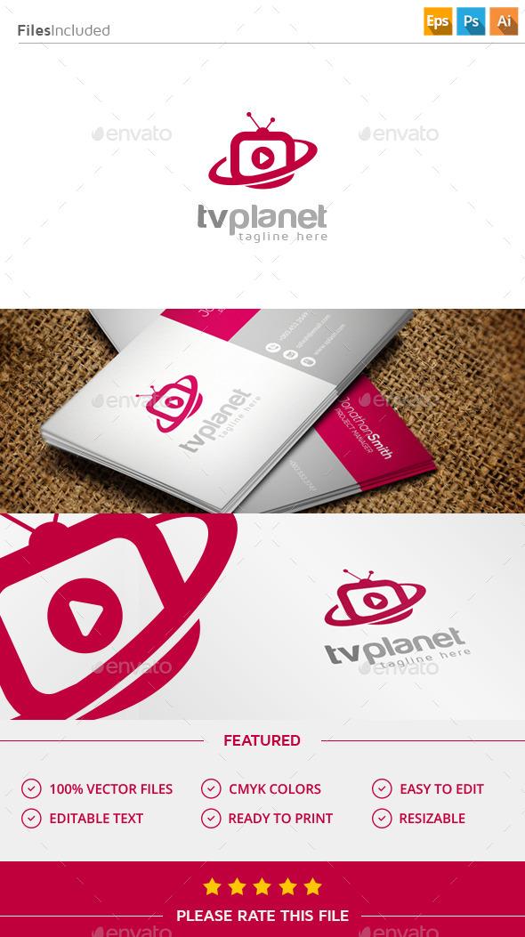 Tv logo - Objects Logo Templates