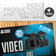 Video Production And Services Flyer/Poster - GraphicRiver Item for Sale