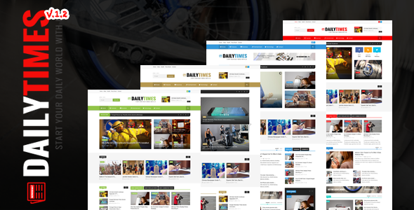 DailyTimes – News and Magazine Joomla Template