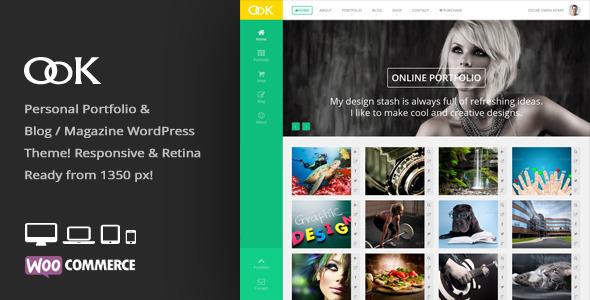 OoK – Personal Blog / Magazine & Portfolio Theme