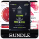 Techno - Flyers Bundle - GraphicRiver Item for Sale