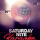 Saturday Night Karaoke - GraphicRiver Item for Sale