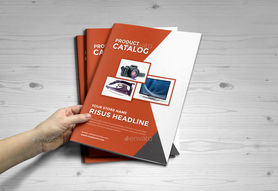 Product Promotion Catalog InDesign Template