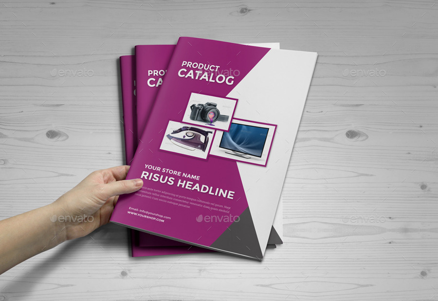 Product Promotion Catalog InDesign Template by Jbn-Comilla ...