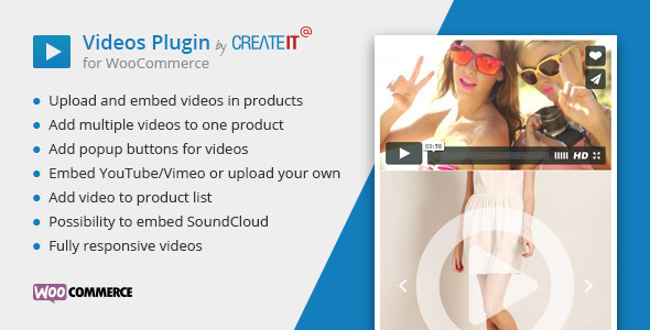 Videos Plugin for WooCommerce - CodeCanyon Item for Sale