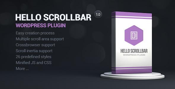 Hello Scrollbar Wordpress Plugin