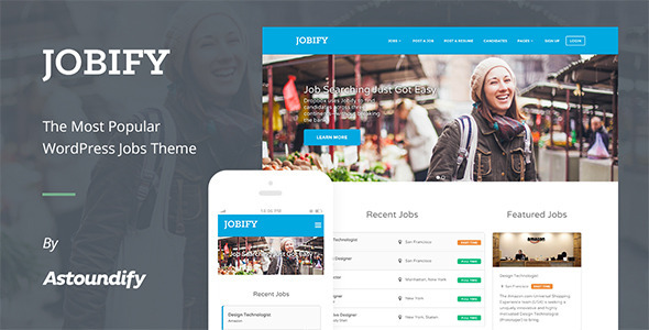 WordPress Job Board Theme – Jobify