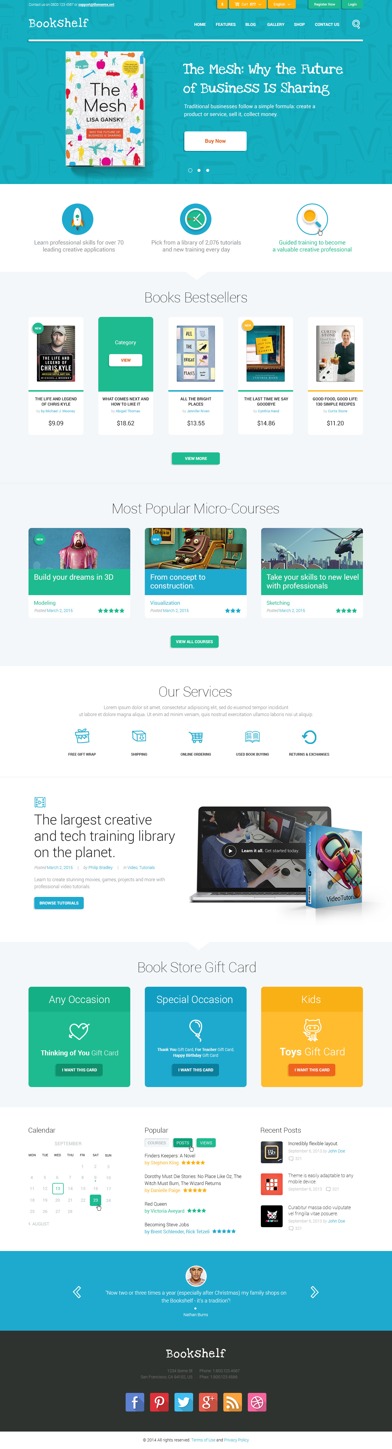 Bookshelf books media online store by themerex themeforest bookshelf books media online store pronofoot35fo Images