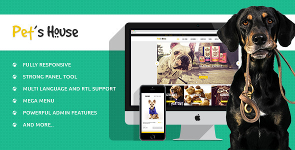 Leo Pet's House Prestashop Theme - PrestaShop eCommerce