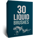30 Liquid Brushes - GraphicRiver Item for Sale