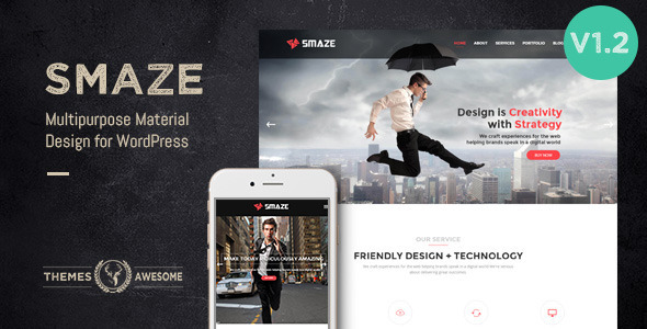 Smaze – Multipurpose Modern Theme