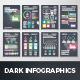 Dark Infographic Brochure Vector Elements Kit 2 - GraphicRiver Item for Sale