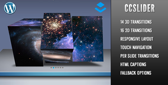 CCSlider 3d/2d Slideshow - Layers Extension - CodeCanyon Item for Sale