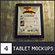 4 Tablet Mockups - GraphicRiver Item for Sale