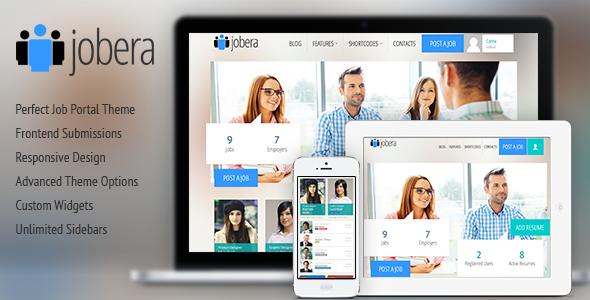 Jobera - Job Portal WordPress Theme by Cohhe | ThemeForest