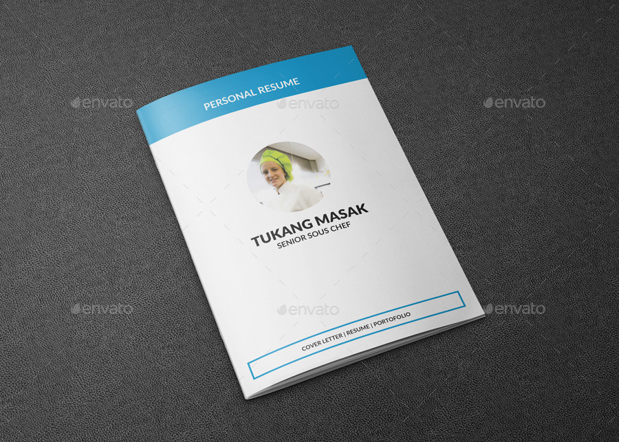 Resume Chef Booklet by ncuz | GraphicRiver