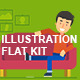 Illustration Flat Kit - GraphicRiver Item for Sale