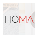 Homa - A Bright and Beautiful WordPress Theme Nulled