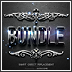 Modern 3D Text Effects Bundle - GraphicRiver Item for Sale