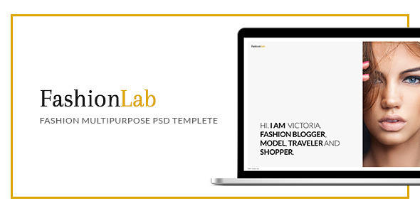 Fashion Lab - PSD - Photography Creative
