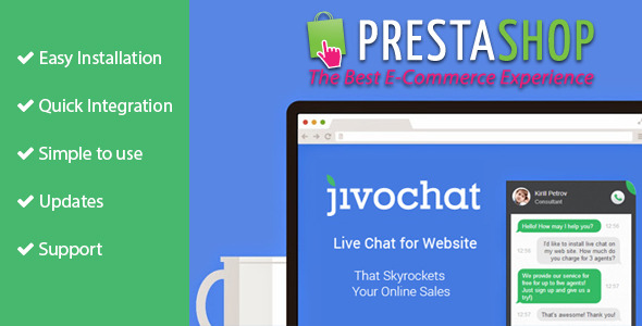 Jivo Chat for Prestashop - CodeCanyon Item for Sale