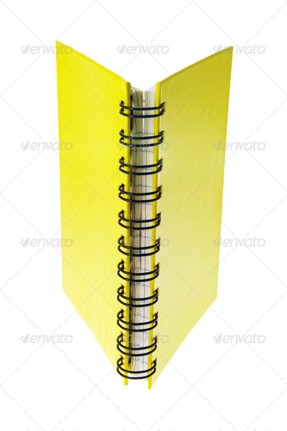 Note Book - Stock Photo - Images