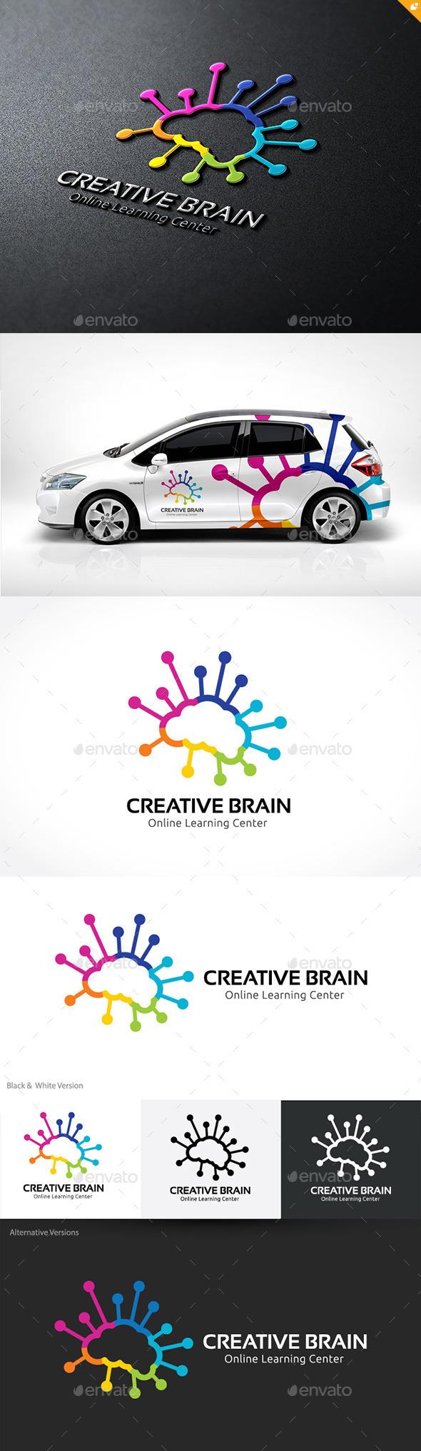 Creative Brain - Humans Logo Templates