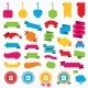 Sale Bag Tag Icons. Discount Symbols. - GraphicRiver Item for Sale