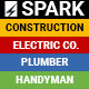 Spark - Construction / Electrician / Plumber Email Template