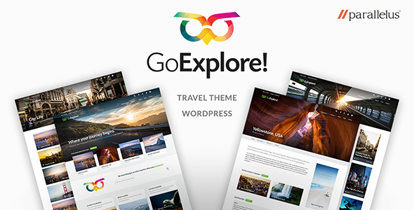 Travel WordPress Theme - GoExplore! - Travel Retail