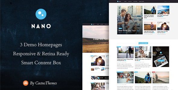 Nano – Simple Magazine WordPress Theme