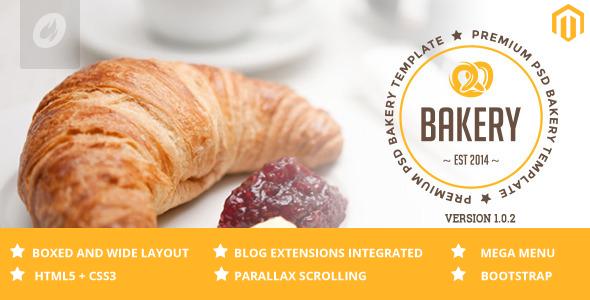 Bakery – Cakery & Bakery Magento Responsive Theme