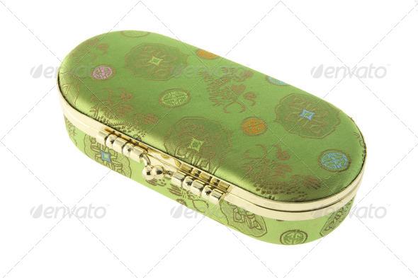 Chinese Vanity Mirror Box - Stock Photo - Images