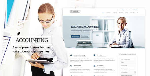Accounting – WP Business theme for Accountants