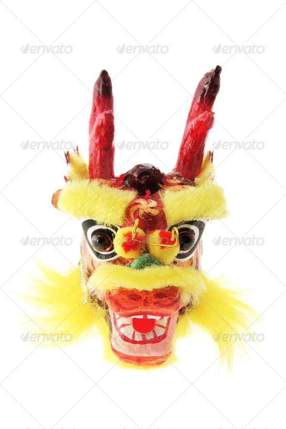 Dragon Head Ornament - Stock Photo - Images