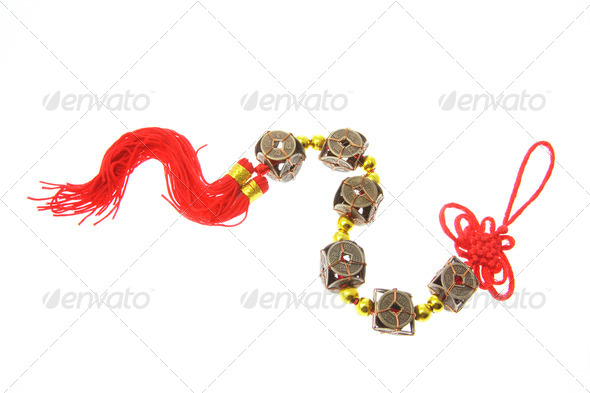 Chinese Good Luck charm - Stock Photo - Images