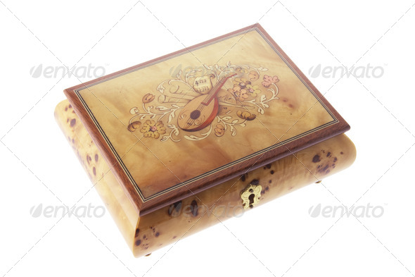 Musical Jewelry Box - Stock Photo - Images