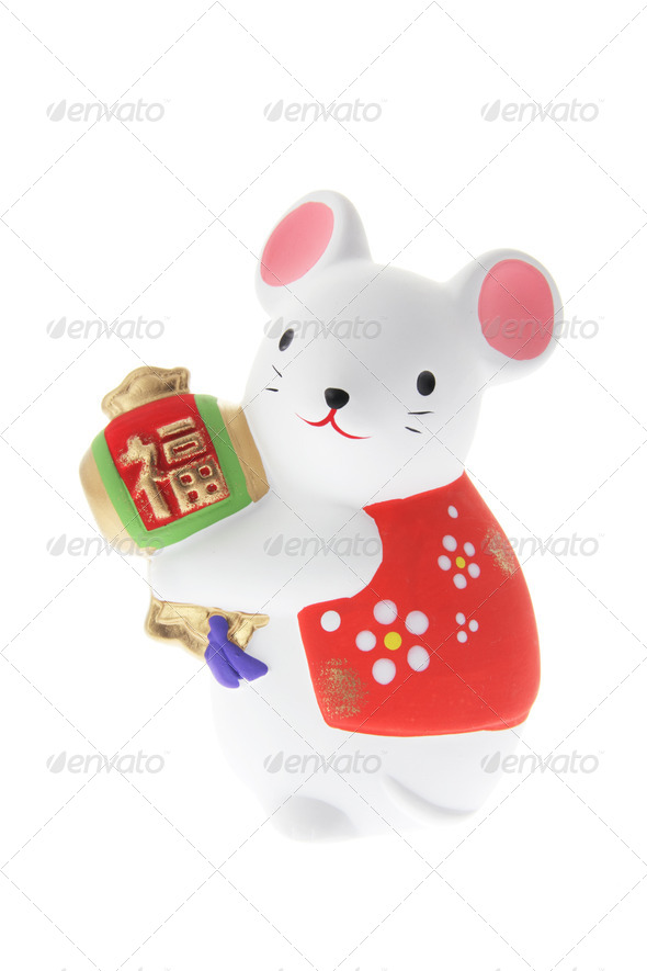 Mouse Ornament - Stock Photo - Images