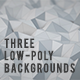 Low Poly Backgrounds 2 - VideoHive Item for Sale