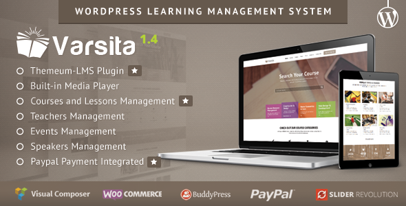 Varsita – WordPress Learning Management System