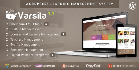 Varsita - WordPress Learning Management System