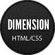 Dimension - Minimalist Portfolio Template - ThemeForest Item for Sale